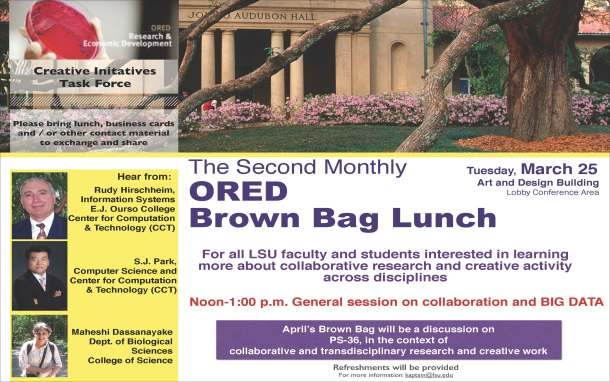 ORED Brown Bag Lunch on collaboration